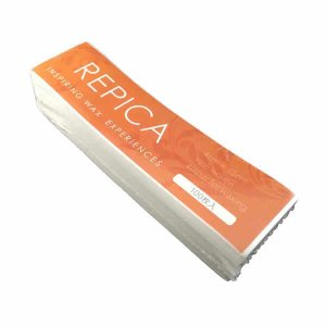 リピカ カットワックスペーパーS 100枚入り 20個セット REPICA サイズ 4cmx15cm すぐ使える カットタイプ ワックスシート 細タイプ ブラジリアンワックス