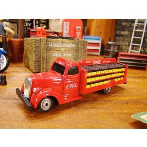コカ・コーラ ボトルトラックのミニカー 1/87スケール(1938年モデル ) アメリカ雑貨 アメリカン雑貨 ミニカー おしゃれ|candytower