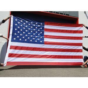 【全国送料無料】 ちょっとリッチバージョンの星条旗の300cm超ビッグサイズフラッグ アメリカ雑貨 アメリカン雑貨 旗|candytower