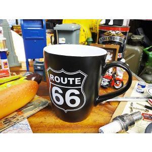 ルート66のマグカップ(ブラック) アメリカ雑貨 アメリカン雑貨 おしゃれ|candytower