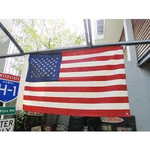 星条旗(キャンバス生地) アメリカ雑貨 アメリカン雑貨 旗|candytower