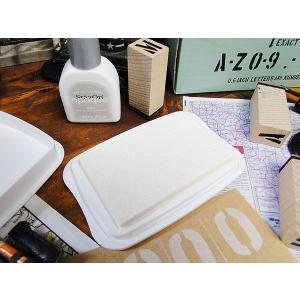 ステンシルスタンプ用カラーインク ステイズオンシリーズ(ホワイト) アメリカ雑貨 アメリカン雑貨 世田谷ベース 人気ランキング1位獲得