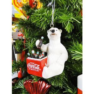 コカ・コーラブランド クリスマスオーナメント(ポーラベアー・ピクニックストレージ/レジン製) アメリカ雑貨 アメリカン雑貨|candytower