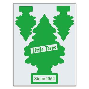 リトルツリーのカットアウトステッカー A(グリーン) アメリカ雑貨 アメリカン雑貨|candytower