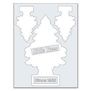 リトルツリーのカットアウトステッカー A(ホワイト) アメリカ雑貨 アメリカン雑貨|candytower