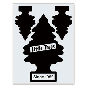 リトルツリーのカットアウトステッカー A(ブラック) アメリカ雑貨 アメリカン雑貨|candytower