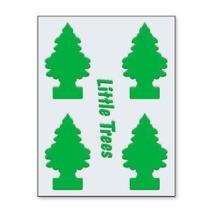 リトルツリーのカットアウトステッカー B(グリーン) アメリカ雑貨 アメリカン雑貨|candytower