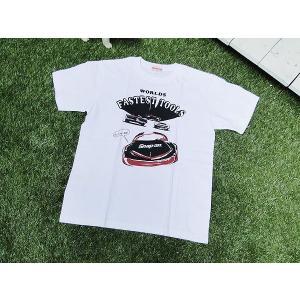 スナップオンのTシャツ(フォローミー/XLサイズ) ■ アメリカン雑貨 アメリカ雑貨 Snap-on グッズ 男前 人気 アメカジ candytower
