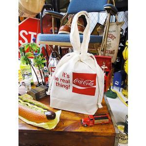コカ・コーラブランド キンチャクポーチ Sサイズ アメリカ雑貨 アメリカン雑貨 おしゃれ|candytower