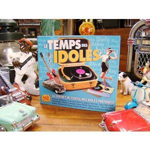 音楽CD LE TEMPS DES IDOLES 4枚組 アメリカ雑貨 アメリカン雑貨|candytower