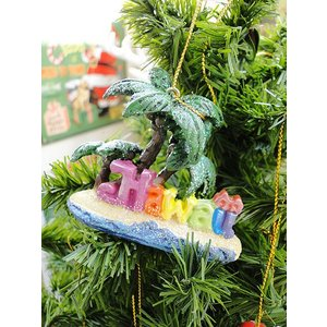 ハワイアン・クリスマスオーナメント(レインボーハワイ) アメリカン雑貨 アメリカ雑貨|candytower