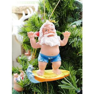 ハワイアン・クリスマスオーナメント(サーフィンサンタ) アメリカン雑貨 アメリカ雑貨 candytower