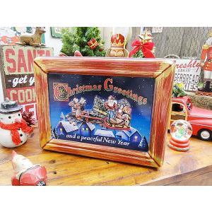 サンタクロースのクリスマスティンボックス アメリカン雑貨 アメリカ雑貨|candytower