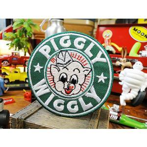 ピグリーウィグリーのワッペン アメリカ雑貨 アメリカン雑貨 アイロン ブランド アメリカ ロゴ キャラクター 通販 candytower