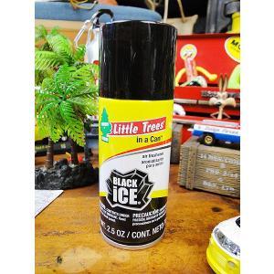 リトルツリーのルームスプレー ツリーカン(ブラックアイス) アメリカン雑貨 アメリカ雑貨|candytower