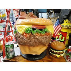 ハンバーガーヘッドマスク アメリカ雑貨 アメリカン雑貨
