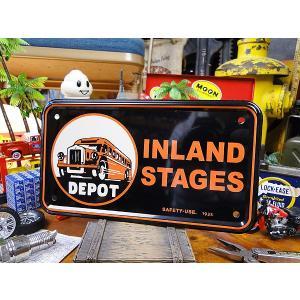 バイクタグ(INLAND STAGES) アメリカ雑貨 アメリカン雑貨 インテリア 壁飾り おしゃれな雑貨屋さん 小物 通販 人気 部屋 輸入|candytower