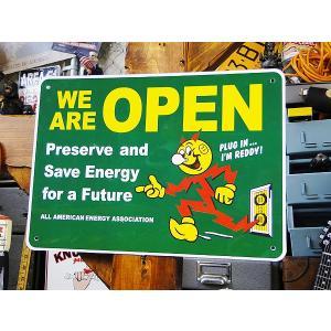 レディ・キロワットのプラスチックサインボード(グリーン) アメリカ雑貨 アメリカン雑貨|candytower