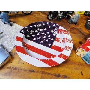 星条旗のティン・アシュトレイ アメリカ雑貨 アメリカン雑貨|candytower