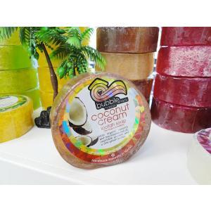 ハワイのセレブ達も愛用するオーガニックソープ バブルシャック ルーファソープ(ココナッツクリーム) ...