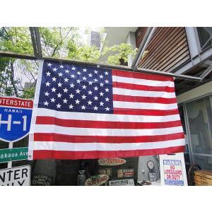 星条旗のナイロンフラッグ(3×5) アメリカ雑貨 アメリカン雑貨 旗|candytower