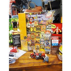 ビアボトルラベルのジグソーパズル 1000ピース アメリカ雑貨 アメリカン雑貨|candytower