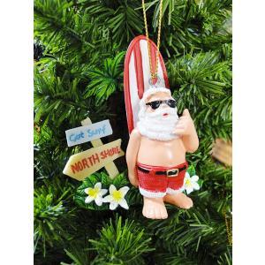 ハワイアン・クリスマスオーナメント(サーフサンタ・ゴッドサーフ) アメリカン雑貨 アメリカ雑貨|candytower