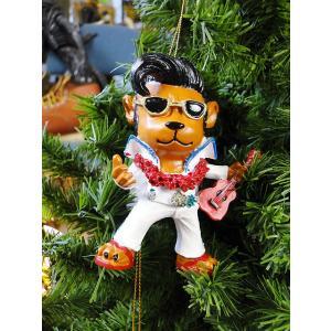 ハワイアン・クリスマスオーナメント(エルヴィスベアー) アメリカン雑貨 アメリカ雑貨|candytower