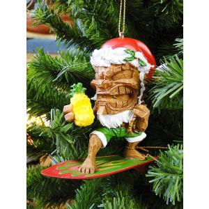 ハワイアン・クリスマスオーナメント(サーフィンティキ) アメリカン雑貨 アメリカ雑貨|candytower