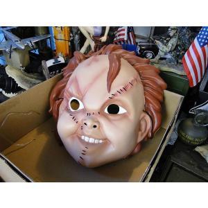 チャイルドプレイ チャッキーのリアルマスク(大人サイズ) アメリカン雑貨 アメリカ雑貨