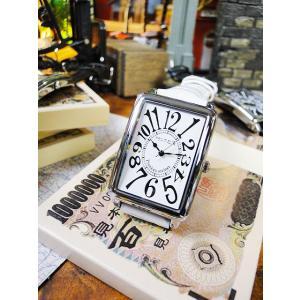 天才時計師フランク三浦の腕時計 初号機(改)通常サイズ(ハイパーホワイト) アメリカ雑貨|candytower