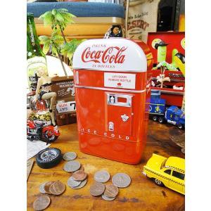 コカ・コーラブランド ベンディングマシーンのティンバンク(Bタイプ) アメリカ雑貨 アメリカン雑貨|candytower