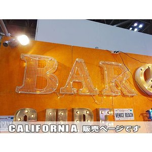 【全国送料無料】 メッシュサイン ホワイト(CALIFORNIA) アメリカン雑貨 アメリカ雑貨|candytower