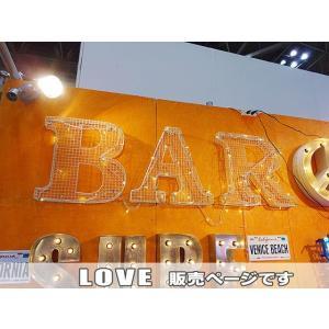 【全国送料無料】 メッシュサイン ガルバナイズド(LOVE) アメリカン雑貨 アメリカ雑貨|candytower