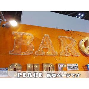 【全国送料無料】 メッシュサイン ガルバナイズド(PEACE) アメリカン雑貨 アメリカ雑貨|candytower