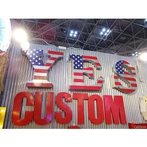 USAフラッグサイン(YES) アメリカン雑貨 アメリカ雑貨|candytower