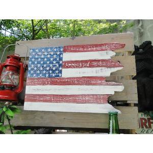 星条旗のレトロウッドボード アメリカ雑貨 アメリカン雑貨|candytower