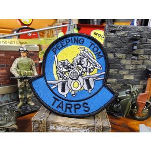 トムキャットのミリタリーワッペン(ピーピングトム) アメリカ雑貨 アメリカン雑貨