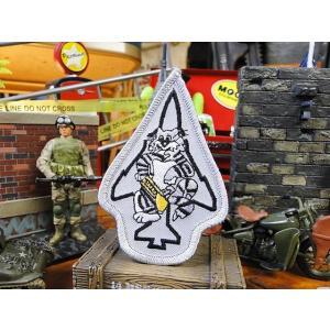 トムキャットのミリタリーワッペン(F-14ダイカット) アメリカ雑貨 アメリカン雑貨