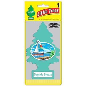 BIGリトルツリー X-tra Strength(ベイサイドブリーズ) アメリカ雑貨 アメリカン雑貨 芳香剤 ランキング 車 おしゃれ フレグランス candytower