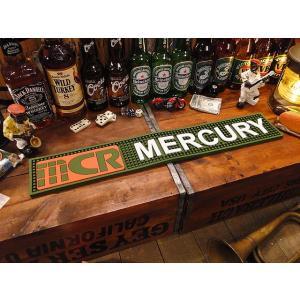 マーキュリーのバーマット(グリーン)  ■ アメリカン雑貨 アメリカ雑貨 MERCURY|candytower