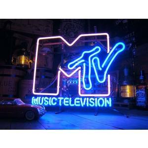【全国送料無料】【即納】【在庫あり】MTVのネオン管 【6ヶ月保証付き】 アメリカ雑貨 アメリカン雑貨 |candytower