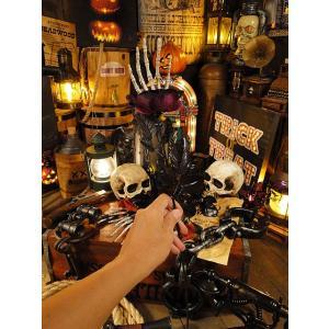 【即納】【在庫あり】スケルトンローズ(パープル) アメリカン雑貨 アメリカ雑貨 ハロウィン 飾り candytower