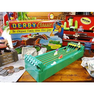 なつかしの競馬ゲームの復刻版 デスクトップダービー アメリカン雑貨 アメリカ雑貨