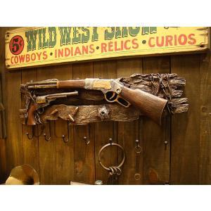 ライフル&リボルバーガンのウォールフック アメリカ雑貨 アメリカン雑貨|candytower