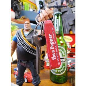 ドクターペッパーのボトルオープナーキーリング アメリカ雑貨 ...