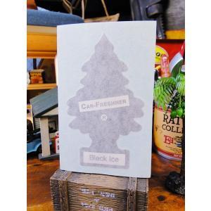 リトルツリーのカッティングステッカー(ブラック) アメリカ雑貨 アメリカン雑貨 candytower