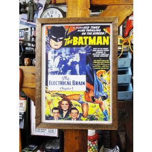 ポスターフレーム(バットマン/エレクトリカルブレイン) アメリカ雑貨 アメリカン雑貨|candytower