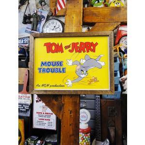 ポスターフレーム(トムとジェリー) アメリカ雑貨 アメリカン雑貨 candytower