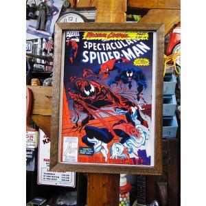 ポスターフレーム(スパイダーマン/ヴェノム) アメリカ雑貨 アメリカン雑貨|candytower